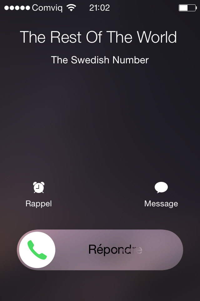 The Swedish Number Call